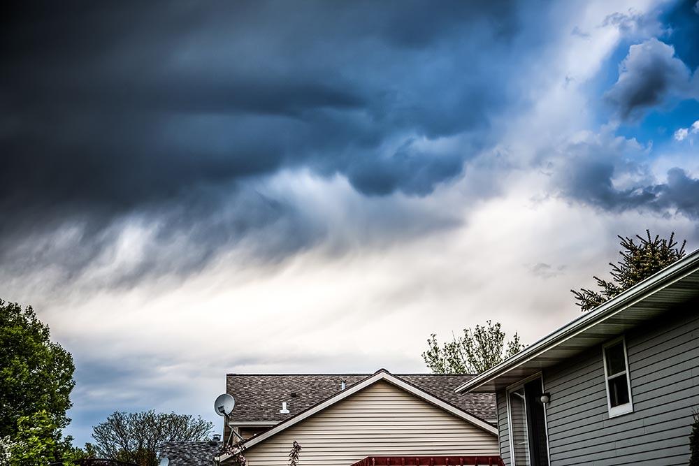 protect HVAC storm